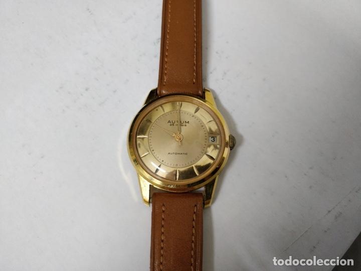 RELOJ DE PULSERA CABALLERO AURUM AUTOMÁTICO INCABLOC 25 RUBÍS (Relojes - Relojes Automáticos)