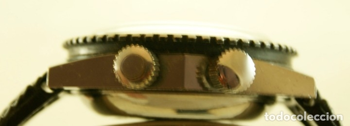 Relojes automáticos: SICURA AUTOMATICO TIPO DIVER FUNCIONANDO BLOQUEADOR BISEL GRUPO BREITLING - Foto 3 - 175820394