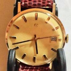 Relojes automáticos: CYMA AUTOMATICO CALIBRE R.804.00 - CAJA ORO DE LEY. 35,7 M/M.-C/C.. Lote 175996484