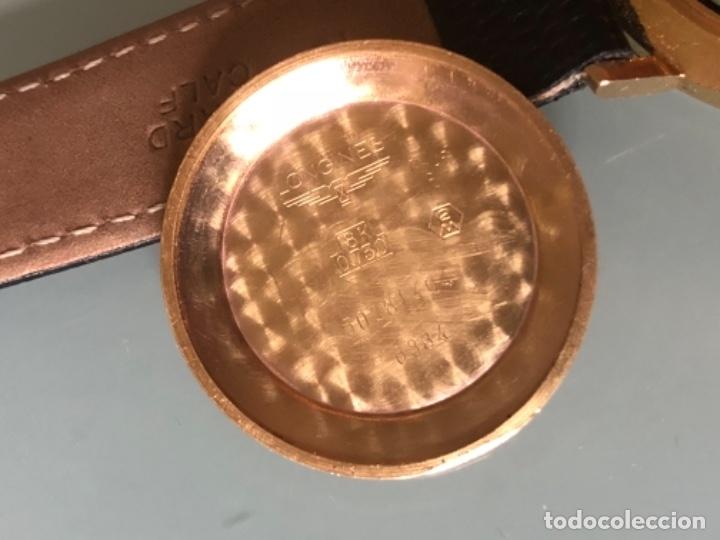 Relojes automáticos: RELOJ LONGINES DATE DAY ORO 18 KILATES - Foto 14 - 176016489