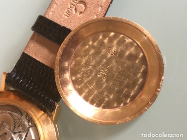 Relojes automáticos: RELOJ LONGINES DATE DAY ORO 18 KILATES - Foto 15 - 176016489