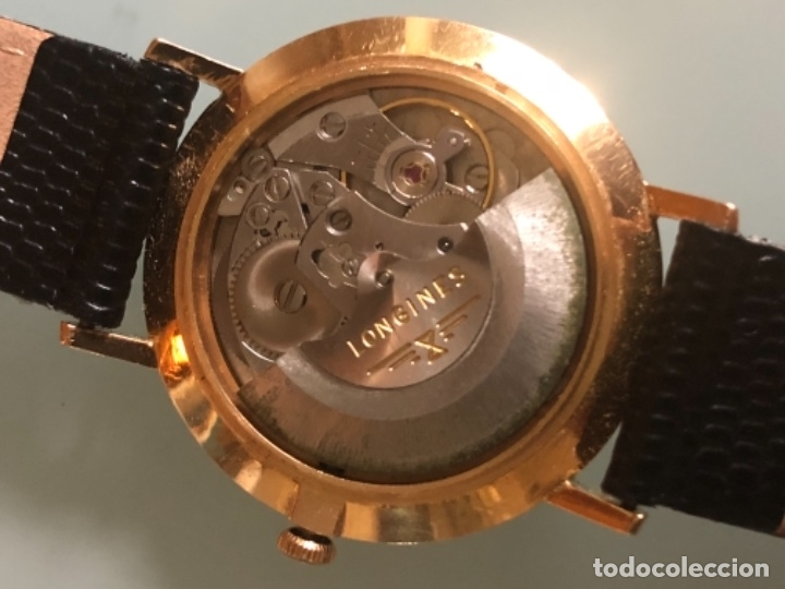 Relojes automáticos: RELOJ LONGINES DATE DAY ORO 18 KILATES - Foto 17 - 176016489