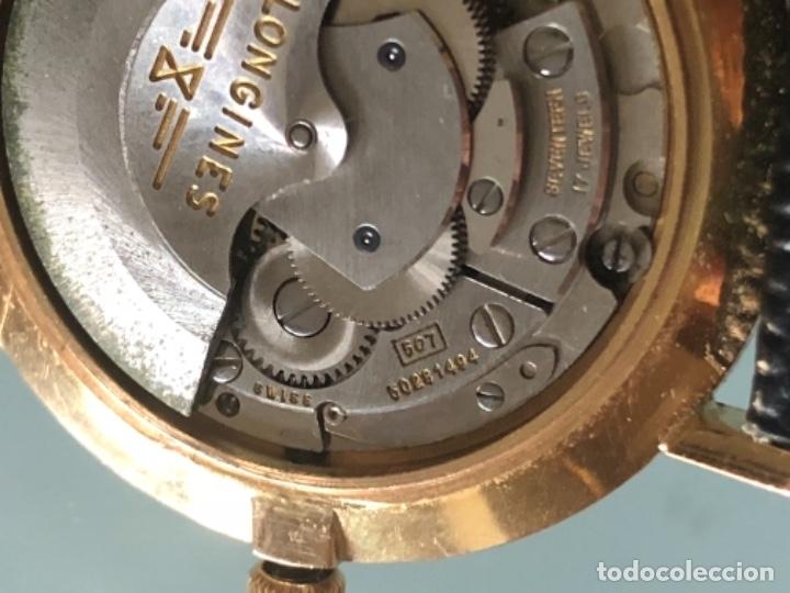 Relojes automáticos: RELOJ LONGINES DATE DAY ORO 18 KILATES - Foto 18 - 176016489