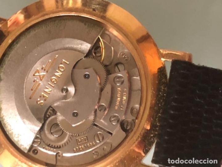 Relojes automáticos: RELOJ LONGINES DATE DAY ORO 18 KILATES - Foto 19 - 176016489