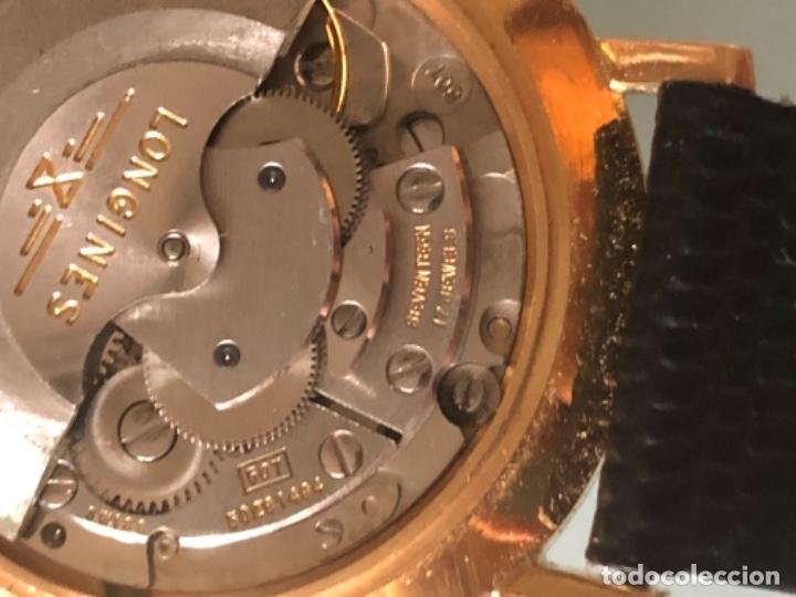 Relojes automáticos: RELOJ LONGINES DATE DAY ORO 18 KILATES - Foto 20 - 176016489