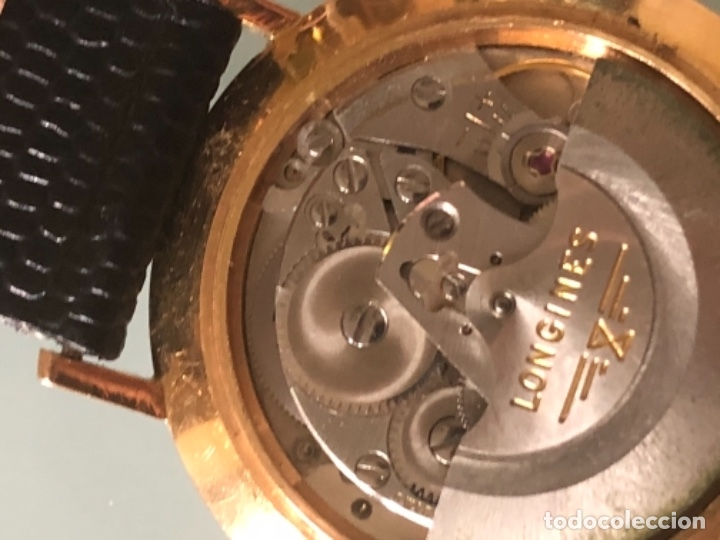 Relojes automáticos: RELOJ LONGINES DATE DAY ORO 18 KILATES - Foto 21 - 176016489