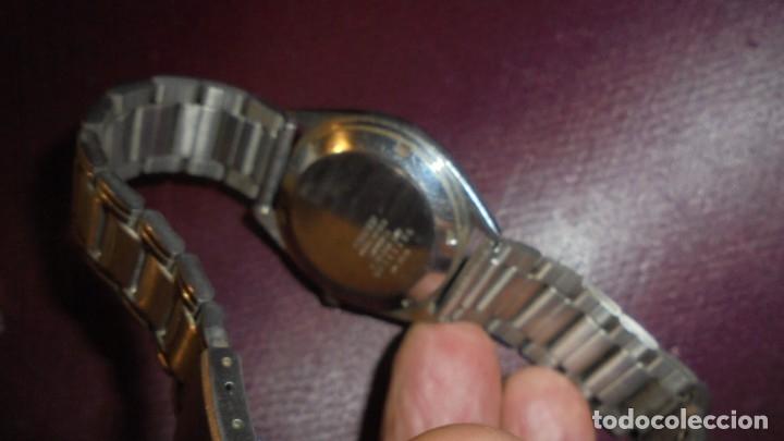 Relojes automáticos: ANTIGUO RELOJ CITIZEN AUTOMATIC 21 JEWELS ESFERA NEGRA CAJA Y CORREO DE ACERO FUNCIONANDO - Foto 3 - 176079329
