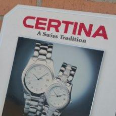 Relojes automáticos: ??EXPOSITOR RELOJES CERTINA VINTAGE EXCELENTE. Lote 176142049