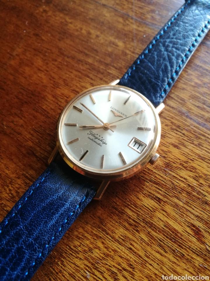 Relojes automáticos: Reloj Longines oro 18 kilates - Foto 2 - 176251035