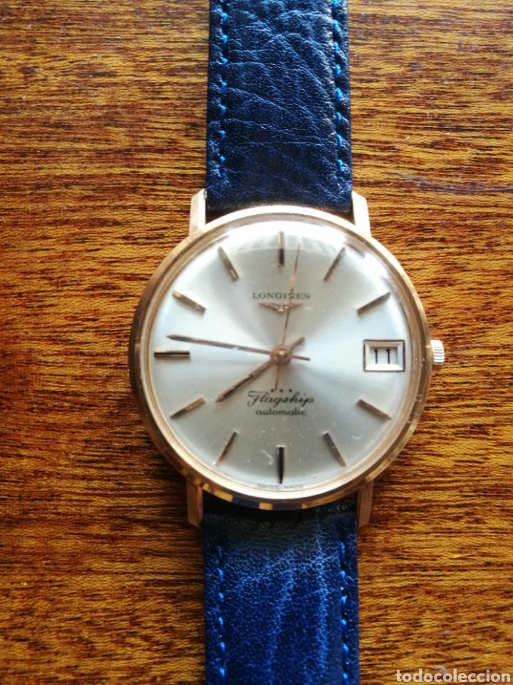 Relojes automáticos: Reloj Longines oro 18 kilates - Foto 3 - 176251035