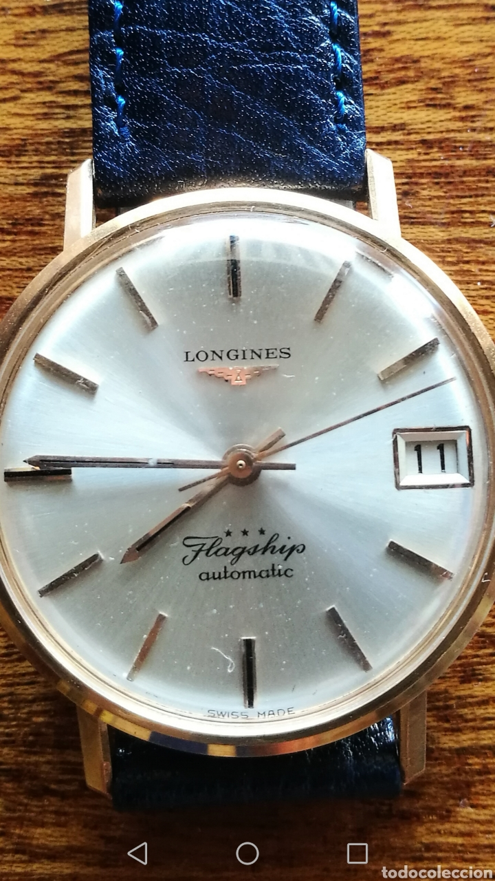 Relojes automáticos: Reloj Longines oro 18 kilates - Foto 7 - 176251035