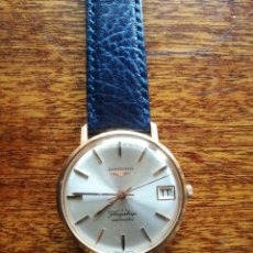 Relojes automáticos: RELOJ LONGINES ORO 18 KILATES. Lote 176251035