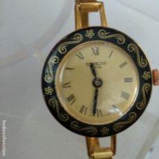 Relojes automáticos: RELOJ SOMECAR SUIZA SWISS NUEVO A ESTRENAR DORADO AÑOS 80 DE MUJER. Lote 176565077