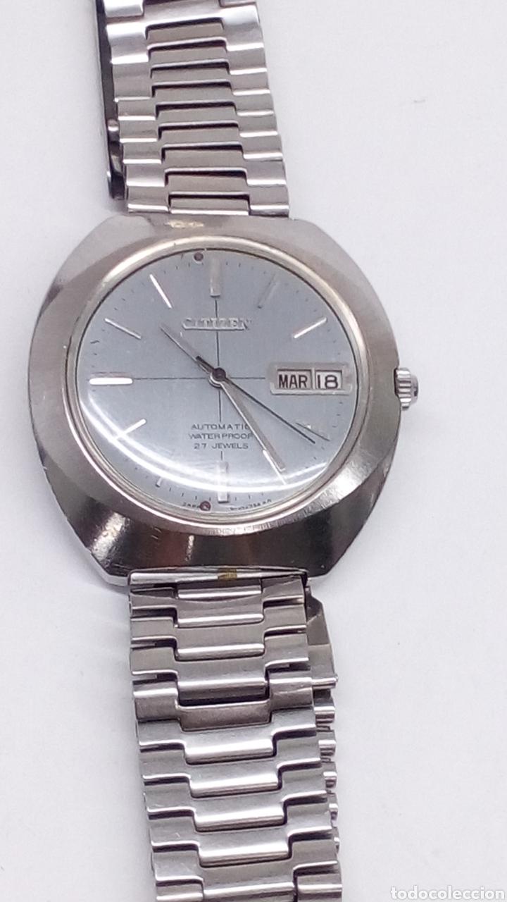 Relojes automáticos: Reloj Citizen Automatico - Foto 2 - 176644545