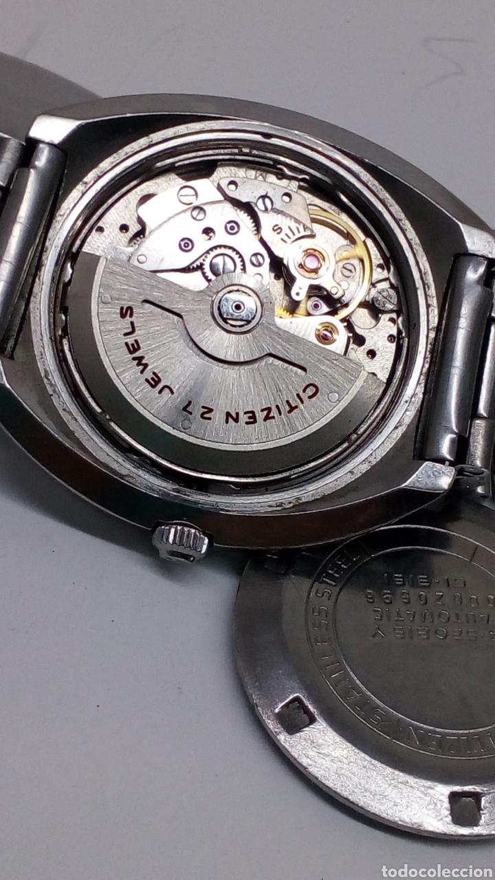 Relojes automáticos: Reloj Citizen Automatico - Foto 3 - 176644545