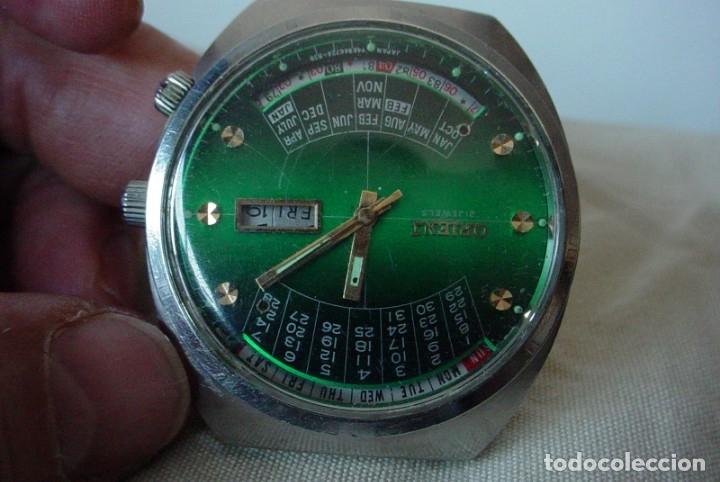 RELOJ ORIENT VINTAGE CALENDADARIO PERPETUO PARA REPARAR (Relojes - Relojes Automáticos)