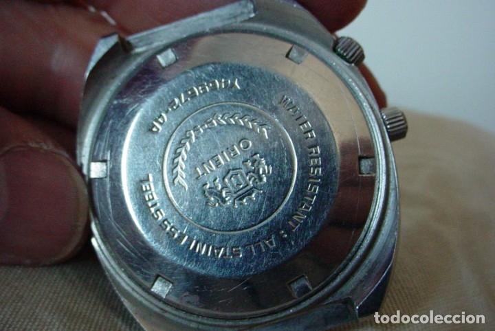 Relojes automáticos: Reloj Orient vintage Calendadario perpetuo Para reparar - Foto 4 - 176670382