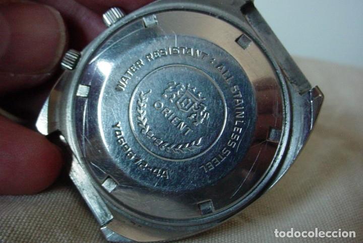 Relojes automáticos: Reloj Orient vintage Calendadario perpetuo Para reparar - Foto 7 - 176670382
