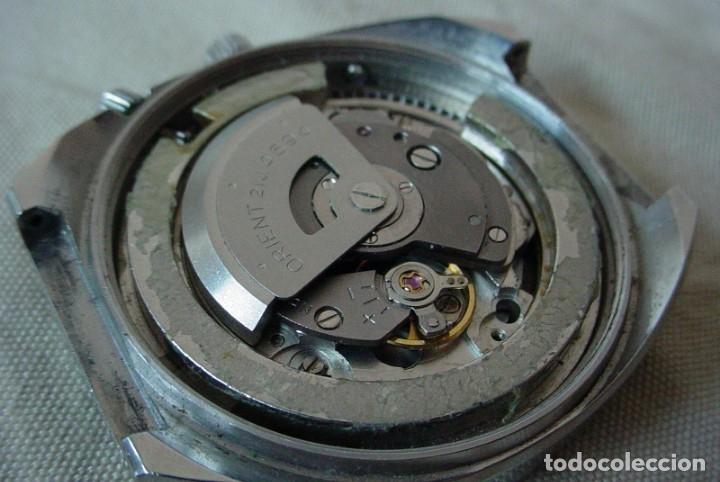 Relojes automáticos: Reloj Orient vintage Calendadario perpetuo Para reparar - Foto 9 - 176670382