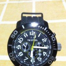 Relojes automáticos: PRECIOSO RELOJ DE PULSERA TW STEEL CABALLERO GRANDE NUEVO SIN ESTRENAR CON CORREA DE CAUCHO PVP 465€. Lote 177197099
