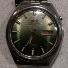 Relojes automáticos: RELOJ DE PULSERA AUTOMÁTICO ORIENT. Lote 177201303