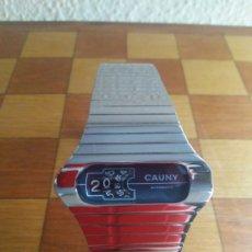 Relojes automáticos: RELOJ CAUNY AUTOMATICO AÑOS 70 CROMADO. Lote 177282555