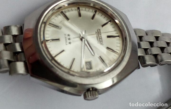 Relojes automáticos: RELOJ AUTOMATICO CITIZEN 3 ESTRELLAS FUNCIONANDO - Foto 3 - 177410257