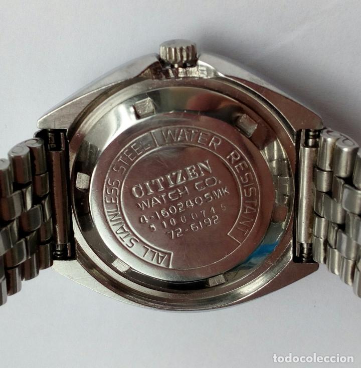 Relojes automáticos: RELOJ AUTOMATICO CITIZEN 3 ESTRELLAS FUNCIONANDO - Foto 4 - 177410257
