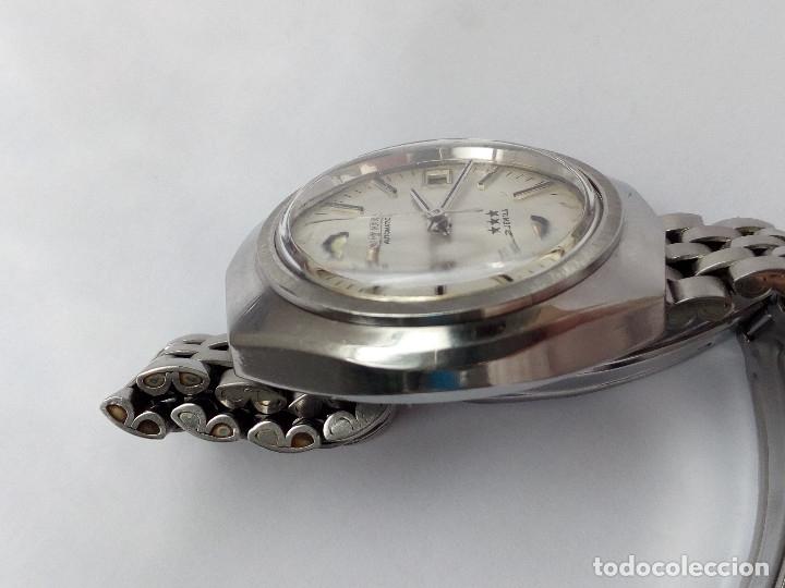 Relojes automáticos: RELOJ AUTOMATICO CITIZEN 3 ESTRELLAS FUNCIONANDO - Foto 5 - 177410257