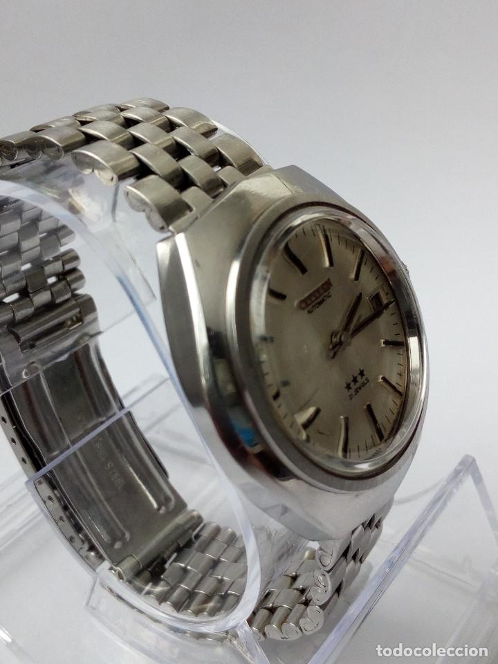 Relojes automáticos: RELOJ AUTOMATICO CITIZEN 3 ESTRELLAS FUNCIONANDO - Foto 8 - 177410257