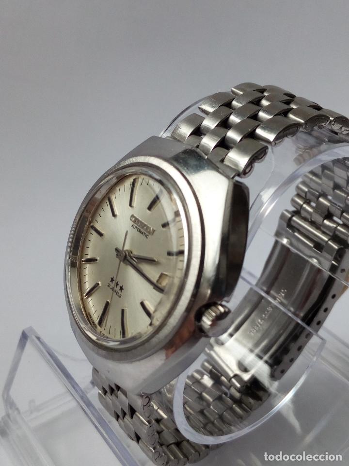 Relojes automáticos: RELOJ AUTOMATICO CITIZEN 3 ESTRELLAS FUNCIONANDO - Foto 9 - 177410257