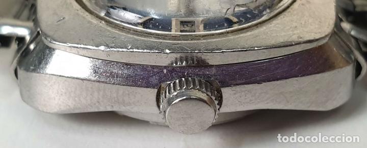 Relojes automáticos: PAREJA DE RELOJES DE PULSERA. AUTOMÁTICOS. SUIZA Y JAPÓN. VARIAS MARCAS. AÑOS 70. - Foto 2 - 177557842