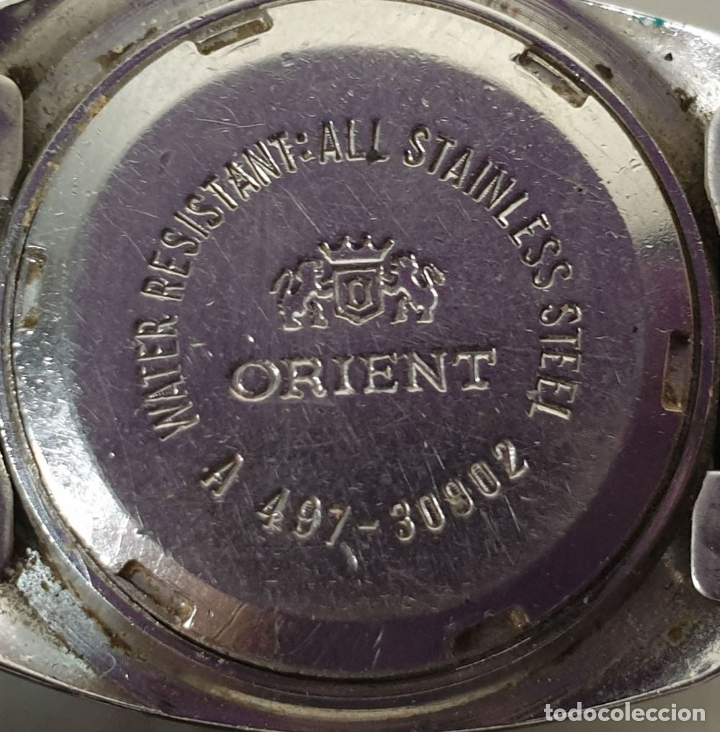 Relojes automáticos: PAREJA DE RELOJES DE PULSERA. AUTOMÁTICOS. SUIZA Y JAPÓN. VARIAS MARCAS. AÑOS 70. - Foto 3 - 177557842