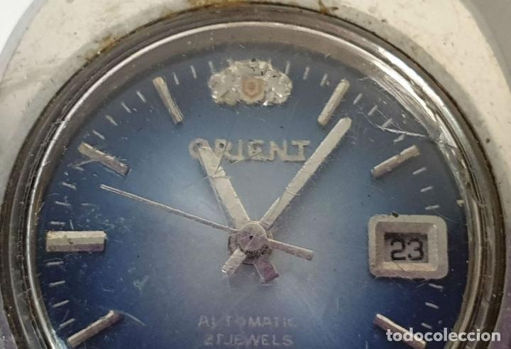 Relojes automáticos: PAREJA DE RELOJES DE PULSERA. AUTOMÁTICOS. SUIZA Y JAPÓN. VARIAS MARCAS. AÑOS 70. - Foto 5 - 177557842