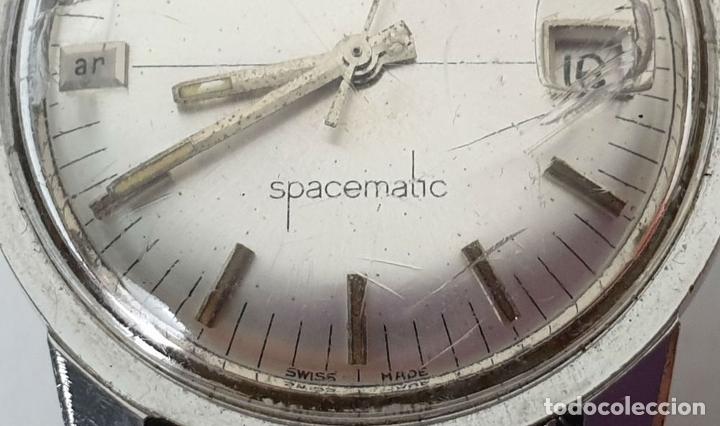 Relojes automáticos: PAREJA DE RELOJES DE PULSERA. AUTOMÁTICOS. SUIZA Y JAPÓN. VARIAS MARCAS. AÑOS 70. - Foto 8 - 177557842
