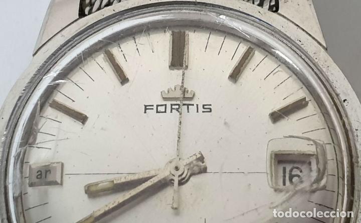 Relojes automáticos: PAREJA DE RELOJES DE PULSERA. AUTOMÁTICOS. SUIZA Y JAPÓN. VARIAS MARCAS. AÑOS 70. - Foto 10 - 177557842