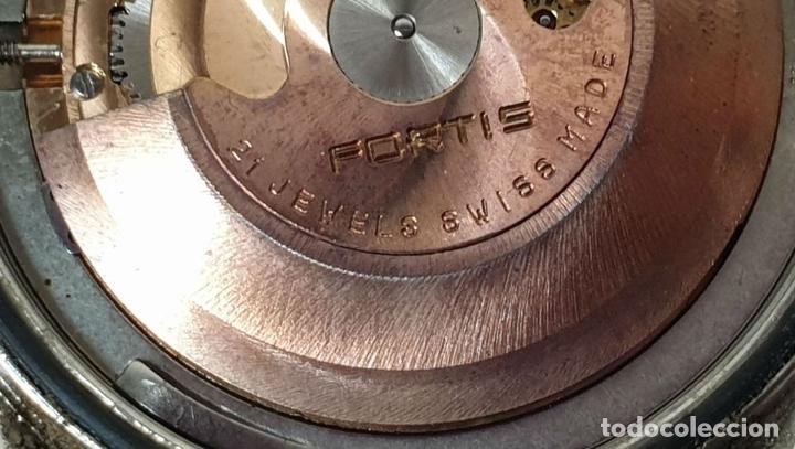 Relojes automáticos: PAREJA DE RELOJES DE PULSERA. AUTOMÁTICOS. SUIZA Y JAPÓN. VARIAS MARCAS. AÑOS 70. - Foto 11 - 177557842