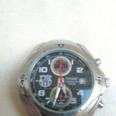 Relojes automáticos: RELOJ MARCA PULSAR F.C.B. BARCELONA USADO SIN CADENA.FUNCIONA.VINTAGE.. Lote 177701518