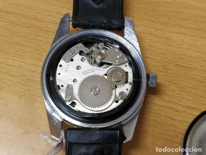 Relojes automáticos: RELOJ DE PULSERA CABALLERO SPORTESA WATERPROOF SHOCK RESISTENT FUNCIONANDO. - Foto 4 - 89344680