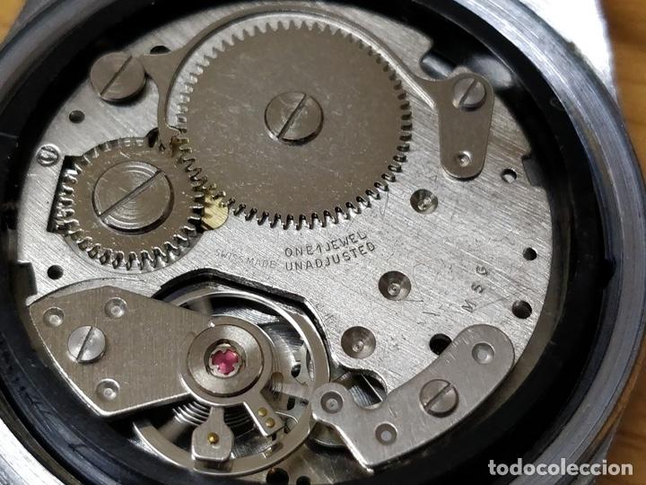 Relojes automáticos: RELOJ DE PULSERA CABALLERO SPORTESA WATERPROOF SHOCK RESISTENT FUNCIONANDO. - Foto 6 - 89344680