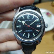 Relojes automáticos: RELOJ DE PULSERA CABALLERO SPORTESA WATERPROOF SHOCK RESISTENT FUNCIONANDO.. Lote 89344680