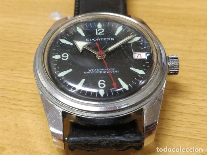 Relojes automáticos: RELOJ DE PULSERA CABALLERO SPORTESA WATERPROOF SHOCK RESISTENT FUNCIONANDO. - Foto 3 - 89344680