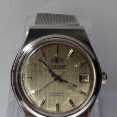 Relojes automáticos: RELOJ AUTOMATICO ORIENT FUNCIONANDO. Lote 177939677