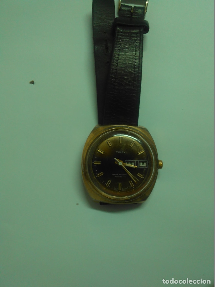 RELOJ AUTOMÁTICO TIMEX -- FUNCIONA -- 3,8 CM (Relojes - Relojes Automáticos)
