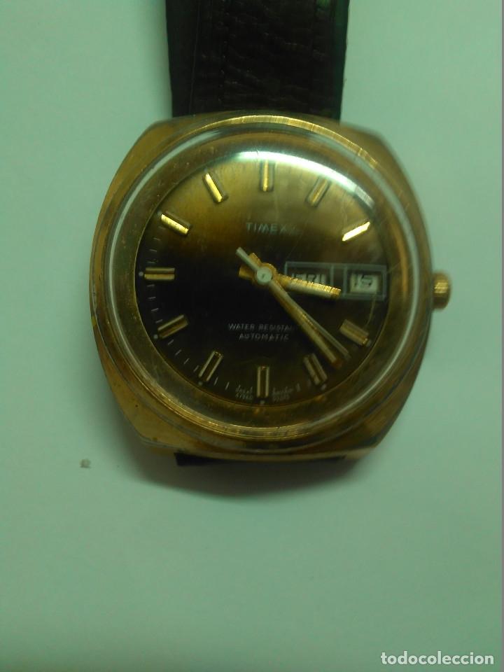 Relojes automáticos: Reloj Automático Timex -- funciona -- 3,8 cm - Foto 2 - 178032003
