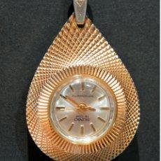 Relojes automáticos: RELOJ COLGANTE AUTOMÁTICO Y CARGA MANUAL SUNKI DE LUXE. Lote 119246251