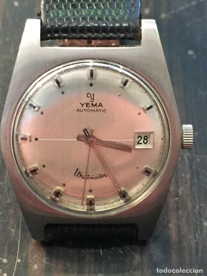 Relojes automáticos: RELOJ DE PULSERA AUTOMATICO MARCA YEMA DE LOS AÑOS 60-70 - Foto 2 - 178274323