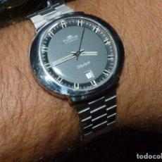 Relojes automáticos: PRECIOSO RELOJ FORTIS SKYLARK MONOBLOQUE SWISS MADE AUTOMÁTICO AÑOS 70 RARO VINTAGE FECHA COLECCIÓN. Lote 178365657