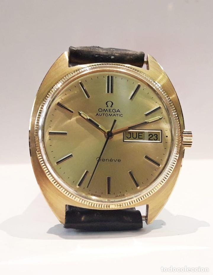 RELOJ OMEGA VINTAGE ORO DE LEY AÑOS 70 AUTOMÁTICO CALIBRE 1012 NUEVO (N.O.S) (Relojes - Relojes Automáticos)