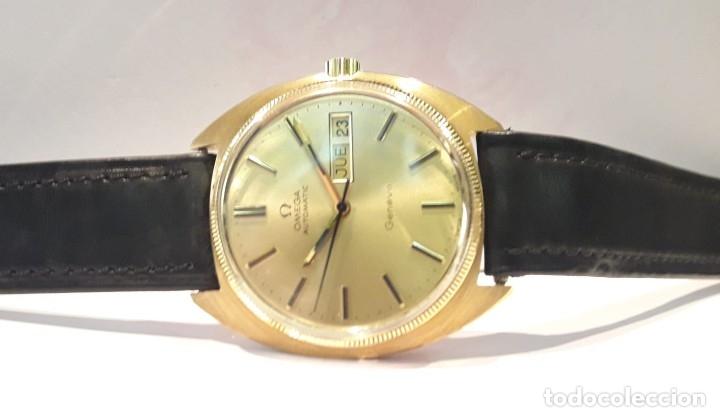 Relojes automáticos: RELOJ OMEGA VINTAGE ORO DE LEY AÑOS 70 AUTOMÁTICO CALIBRE 1012 NUEVO (N.O.S) - Foto 2 - 178444613